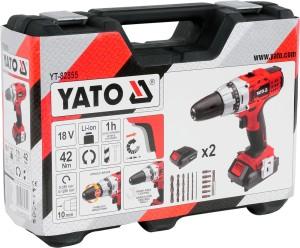 18V YATO power tools  portable hand drill machine   cordless drill YT-82855