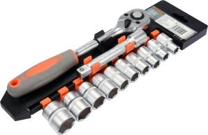 Household Box Hand Tools Repair  Socket Wrench Multi Tool Set 1/2