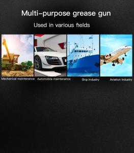 YATO GREASE GUN 800CC ZINC TUBE AND HANDLE 1 0Z / 40 TIMES YT-07043