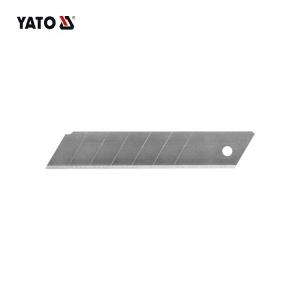 YATO سكين قابل للسحب بليد صندوق القاطع سكاكين فنية المفاجئة قبالة قفل شفرة حلاقة البلاستيك قذيفة YT-7530