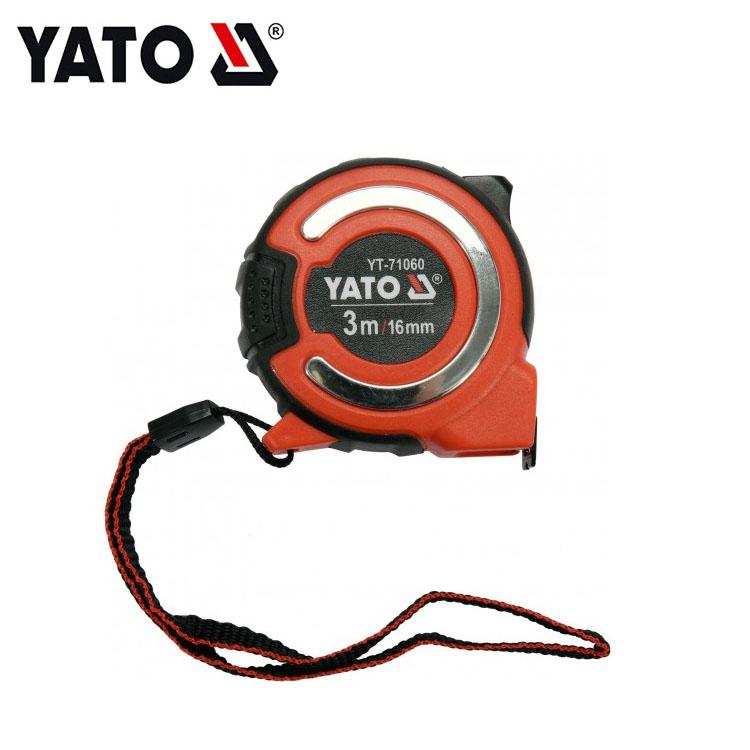 YATO Measuring Tools Steel Tape Measure Custom Tape Measuring Tape 3 M X 16 MM