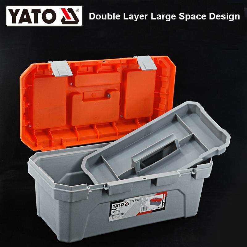YATO پلاسٹک باکس سائز L ٹول باکس اور کیبنٹس YATO YT-88882