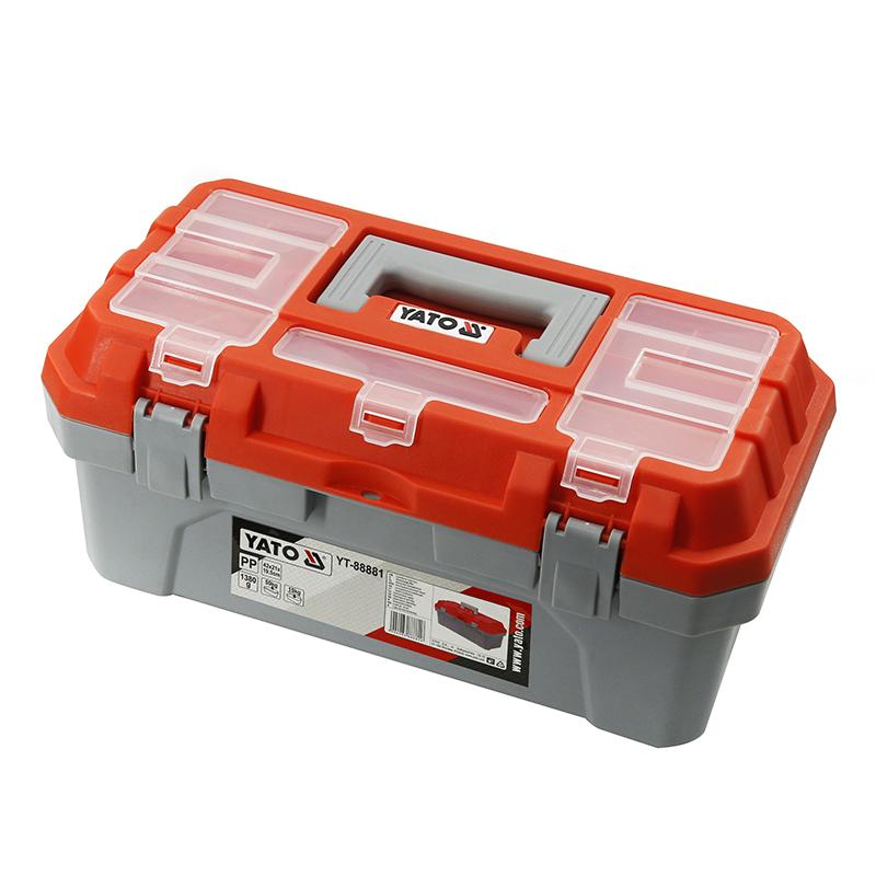 YATO PLASTIC BOX SIZE M TOOL BOX & CABINETS YATO YT-88881