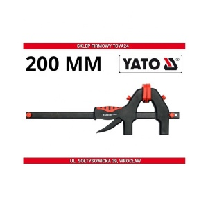 YATO Plastic Spring Clamp Construction Tools Vinnige vrystelling Plastic Clamp