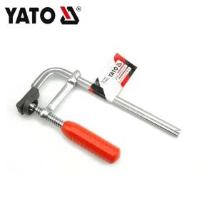 YATO Sanitärwerkzeuge geschmiedete F-Klemme 300X80MM verchromte Bauwerkzeuge Kohlenstoffstahl