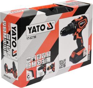 YATO POWER TOOLS 18V BRUSHLESS DRILL DRIVER SET
