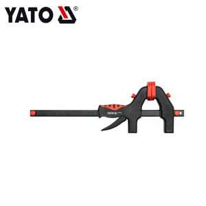 YATO مشبك بلاستيكي سريع التحرير سريع التحرير أنبوب قابل للتعديل سريع التحرير مشبك F