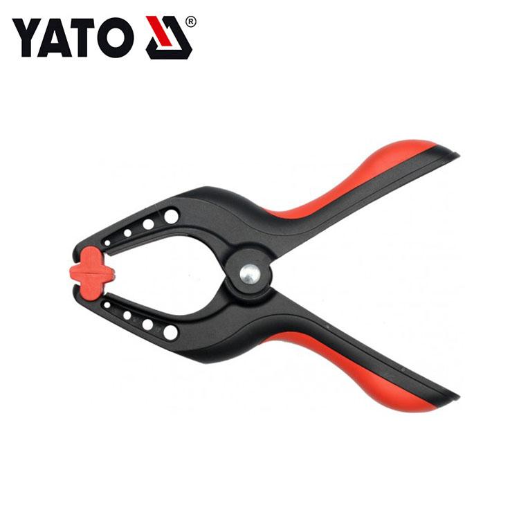 YATO Spring Clamp Adjustable Spring Clamp Plastic Black Spring Clamp Price