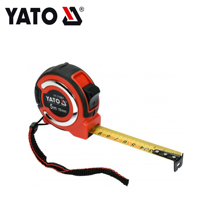 YATO Steel Measuring Tape Custom Packing Tape Measuring Tape 5 M X 19 MM