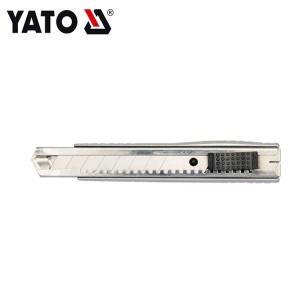 YATO أداة قطع ورق حائط صندوق مفتوح للاستخدام الصناعي شفرة سكين كهربائي شبه منحرف 18 مللي متر SK2