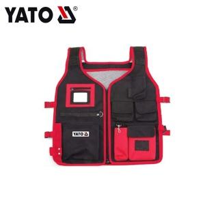 YATO Wholesale Industrial Use Good Price Tool Sleeveless Jacket Work Vest For Man