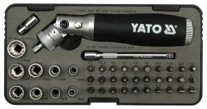 YATO YT-2806 Wholesale Industrial Ratchet Screwdriver Set 42Pcs Multi Screwdriver Sets