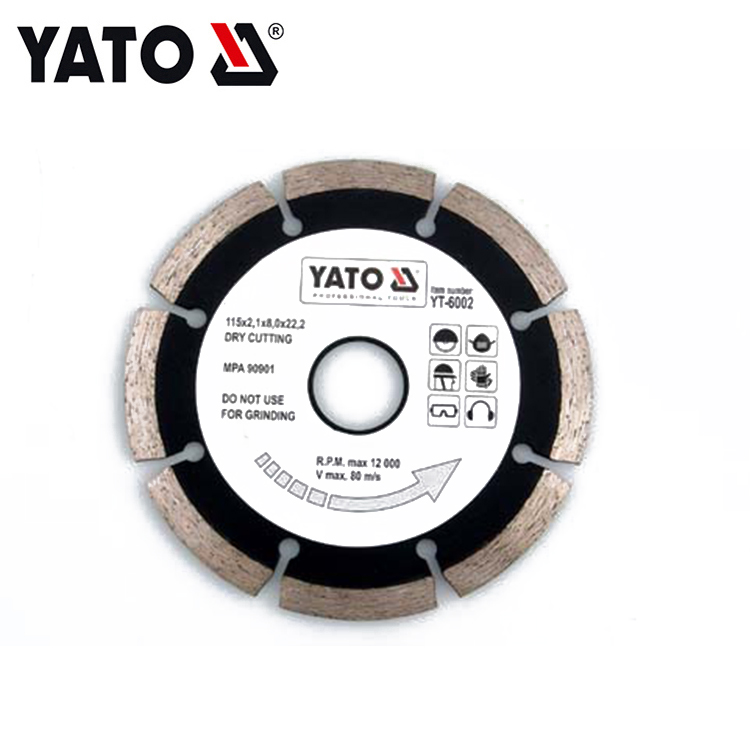 YATO YT-6004 DIAMOND BLADE SEGMENTED - HS 180MM POWER TOOL ACCESSORIES