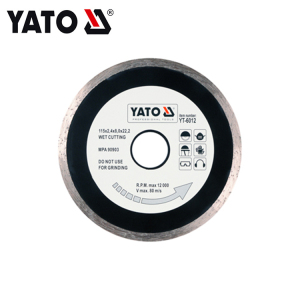 YATO YT-6012 DIAMOND BLADE CONTINUOUS RIM  - EN 115MM POWER TOOL ACCESSORIES