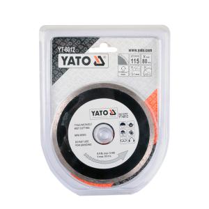 YATO YT-6012 حافة متصلة بشفرة ماسية - ملحقات أدوات كهربائية EN 115 مللي متر