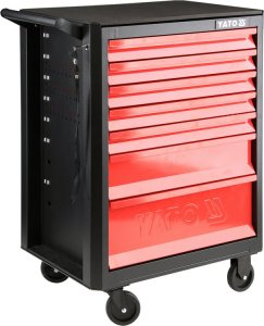 Hot Sale High Quality Steel Auto Repair Tool Cabinet 211 Pcs Tools Tool Trolley YT-55291