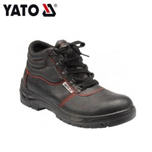 YATO Black Relaxation Fashionable Styles Middle-Cut Safety Shoes European Size 46