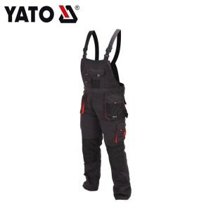 YATO Zuverlässige Arbeits Bibpants Größe Heißer Verkauf Arbeitshose Gute Qualität Kleidung Hose Hose Männer YT-80155