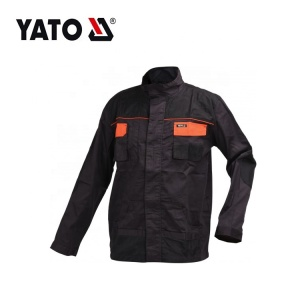 YATO Factory عالي الوضوح قوة عامل قوي عملي رجالي ملابس العمل سترة
