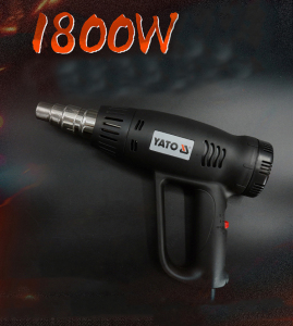 YATO GASOLINE TOOLS POWER TOOL HOT AIR GUN WITH ACCESSORIES 1800W YT-82300