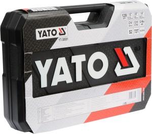 YATO HAND TOOLS TOOL SET CAR REPAIR WRENCH SOCKET TOOL SET 126 PCS YT-38881