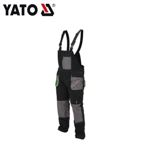 YATO High Quality And High Safety Performance Safety Bibpants Men Grey