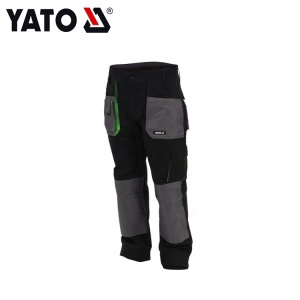 YATO Hot Sale Multi-Functional Working Trousers Size XXL Pant Black Wholesale