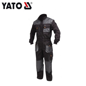 Yato Long Sleeve Practical Comfortable New Style Working Overall Size XXL Black