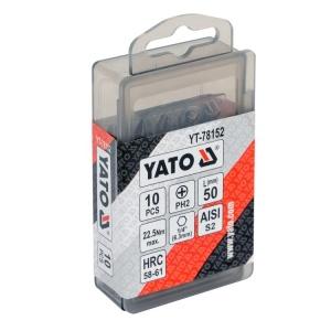 Yato Multi Bit Screwdriver Bit Hard Electric Screw Driver Drill Bit Batch Head