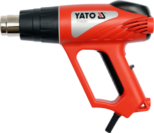 YATO POWER & GASOLINE TOOLS HOT AIR GUN WITH ACCESSORIES YT-82291