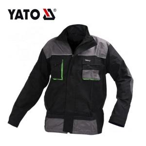 YATO Top Qualität Zuverlässige Praktische Herren Graue Arbeitsjacke