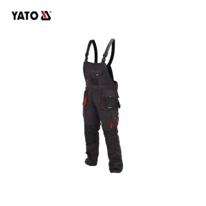 YATO Working Bibpants Size 2019 Best Selling Work Pants Work Trousers High Quality Clothing Pant Trouser For Men