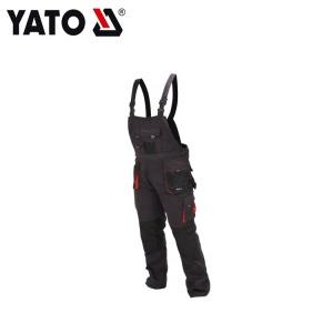 YATO Working Bibpants Size XL Professional Construction Safety Grey And Black