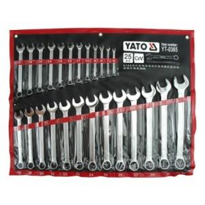 YATO YT-0365 TOOL SET 25PCS WRENCH COMBINATION SPANNER SET