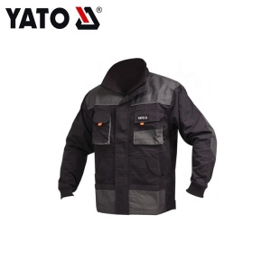 YATO YT-80179 Working Reliable Quality Wear Mens Jacket Black High Quality And Inexpensive
