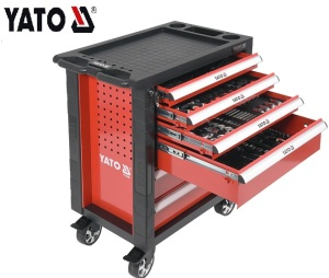 HAND TOOLS TOOL CABINET TOOL SETS SERVICE TOOL CABINET WITH TOOLS 177PCS YATO YT-55300