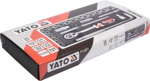 ساکٹ سیٹ ٹول سیٹ 25PCS 1/2 YT-12671 YATO