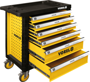 VOREL  New Design Storage Hand Tools In Roller Cabinet Tool Chest Tool Box 58539