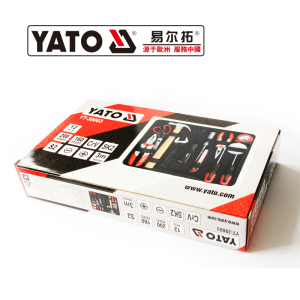 YATO 2019 Hot Sale YATO Professional 12 pcs hand tools  Hand Tool Set YT-39003