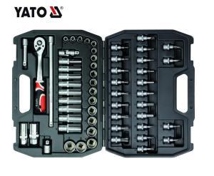 Yato 58PCS Professional Hand Tools Socket Set 3/8