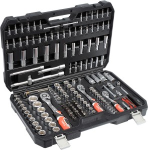 YATO Reparación automática Conxunto de ferramentas mecánicas marca Europa 173PCS YT-38931
