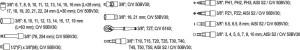 YATO Reparación automática Conxunto de ferramentas mecánicas marca Europa 58PCS YT-3857