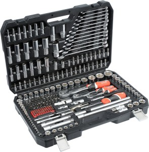 YATO Automotive Tools Auto Repair Mechanic Tool Set Europe Brand YT-38841 SOCKET SET 1/4