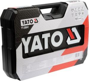 YATO Ferramentas para automoción Conxunto de ferramentas para reparación automática Marca Europa YT-38841 CONXUNTO DE ENCHUFE 1/4