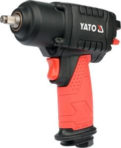 YATO HAND TOOLS PNEUMATIC TOOLS TWIN HAMMER IMPACT WRENCH YT-09501 TWIN HAMMER IMPACT WRENCH MINI 3/8'' 400NM