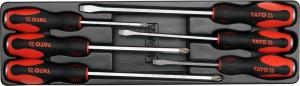 YATO HAND TOOLS TOOL BOX WITH TOOLS 63PCS YT-3895