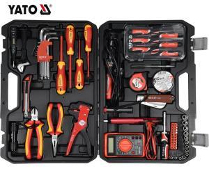 YATO Hot Sale YATO Professional 68pcs electrician hand tools  Hand Tool Set YT-39009