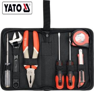 YATO Professional  Hot Sale  Complete Tool Box Set 7 PCS TOOL SET YT-39006