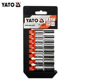 Yato Professional Set di chiavi a bussola per utensili manuali 1/4