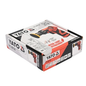 YATO YT-09730 CONSTRUCTION TOOLS AIR ANGLE SANDER ORBIT PNEUMATIC TOOL